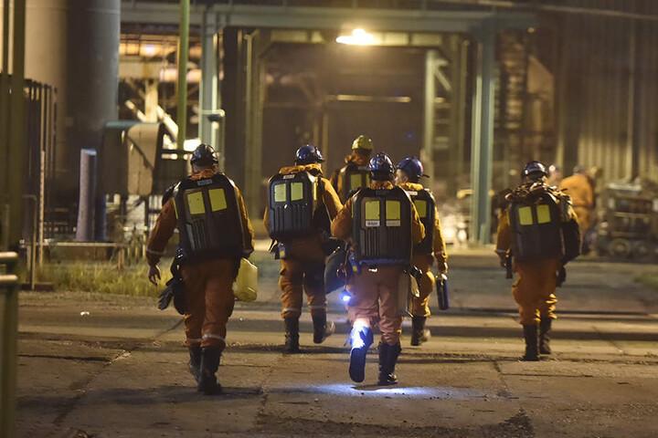 Mindestens 13 Bergleute kamen beidem Grubenunglück ums Leben