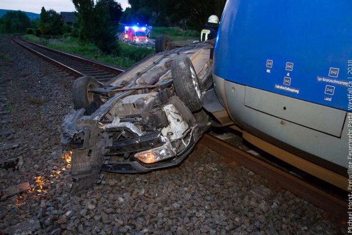 Verletzt wurde bei dem Unfall glücklicherweise niemand.