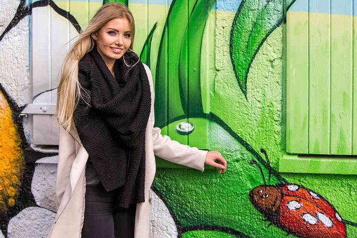 Die schöne Leipzigerin ist als Miss Sachsen und Miss Germany viel unterwegs. Bald will sie aber an die Uni.