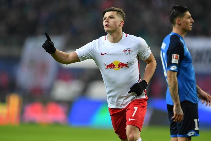 Mit seinem Tor zum 2:1 für RB Leipzig ebnete Marcel Sabitzer den Weg zum Sieg über Hoffenheim.