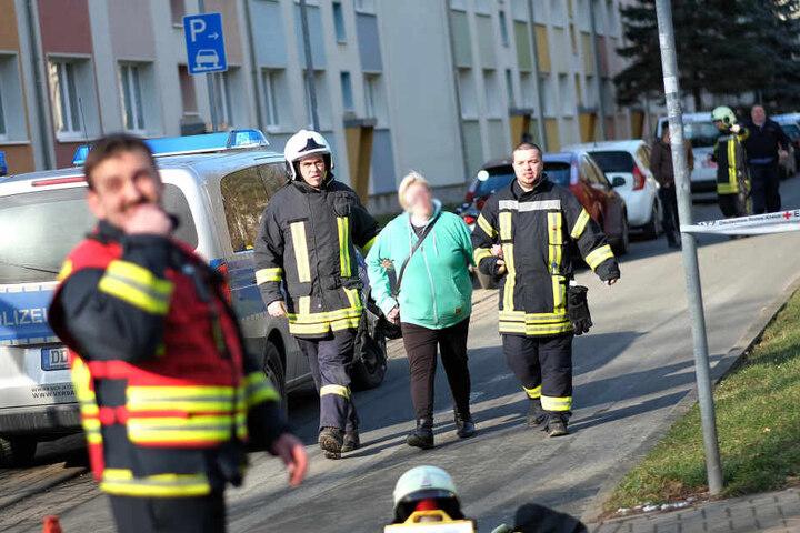 Insgesamt waren 34 Mieter von der Evakuierung betroffen.