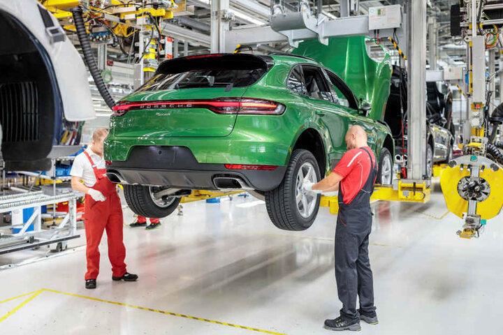Das in Leipzig produzierte Verkaufsschlager-Modell Macan könnte einen Elektromotor bekommen.
