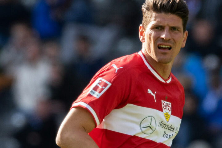 VfB-Stürmerstar: Mario Gomez.