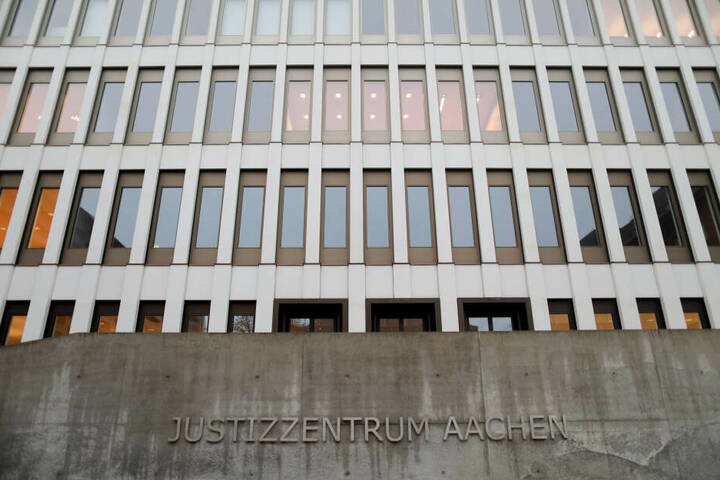 Der Prozess findet am Landgericht Aachen statt.