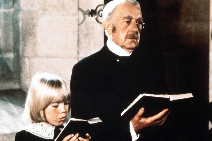 """So kennt man den """"Kleinen Lord"""" bisher: Ricky Schroder als Cedric und Alec Guinness als Earl im bekannten Fernsehfilm."""