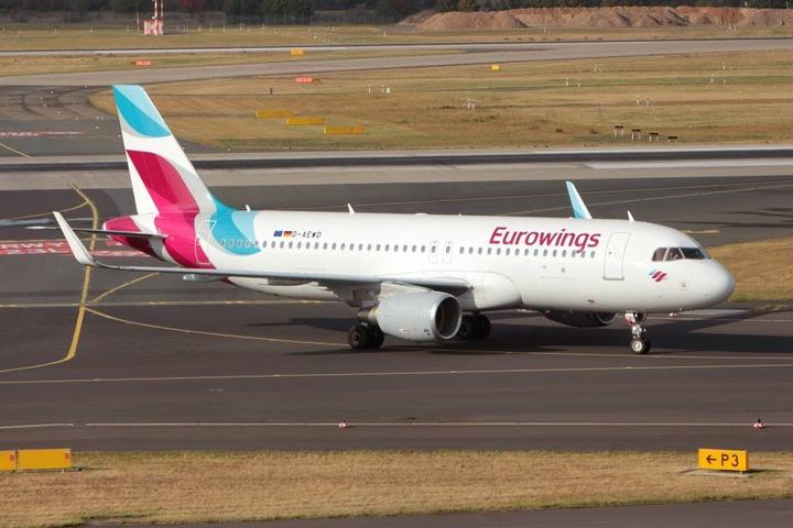 In Dresden und Leipzig bleiben am Donnerstag alle Flieger der Eurowings und Germanwings am Boden.