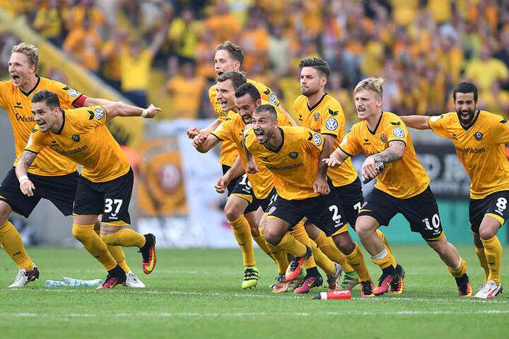 Im vergangenen Jahr schmiss Dynamo den Bundesligisten aus Leipzig raus. Klappt es gegen Freiburg wieder mit einer kleinen schwarz-gelben Invasion?