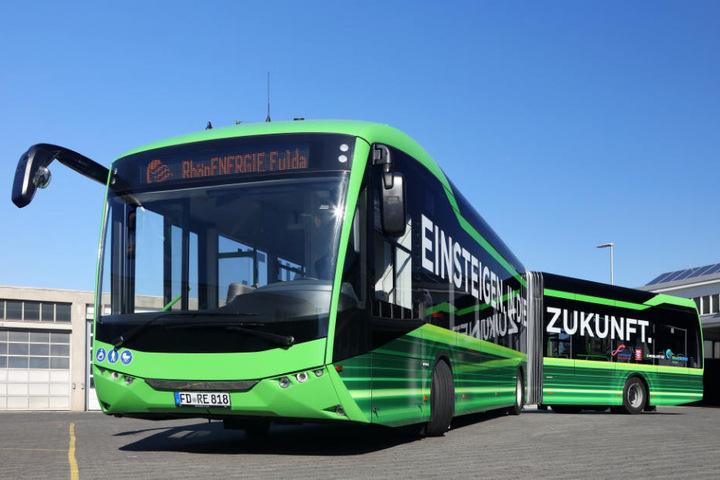 In Fulda fährt bereits seit Oktober ein E-Bus durch die Stadt.