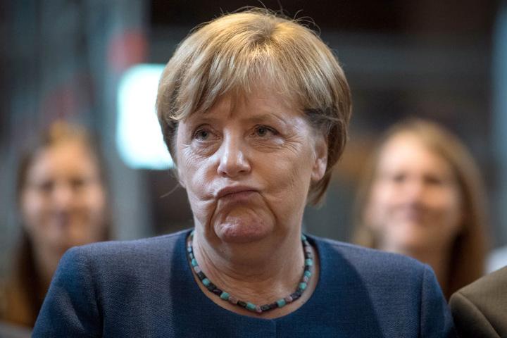 Bundeskanzlerin Angela Merkel soll den Wetterfröschen helfen.