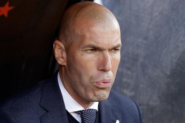 Zinedine Zidane hat keine Verwendung für Gareth Bale.