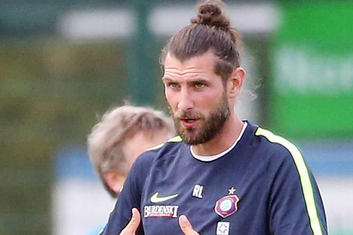 Robin Lenk, Teamchef des FC Erzgebirge.