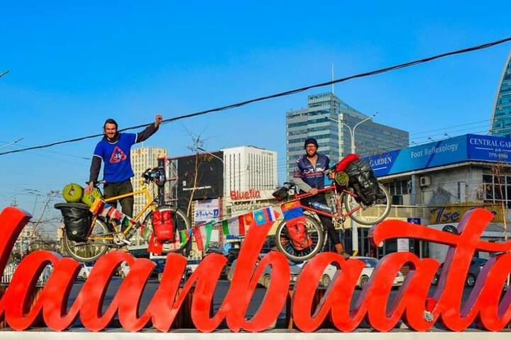 Nach sieben Monaten und 13.500 Kilometern auf dem Sattel kamen die Abenteurer gesund und glücklich in Ulan-Bator an.