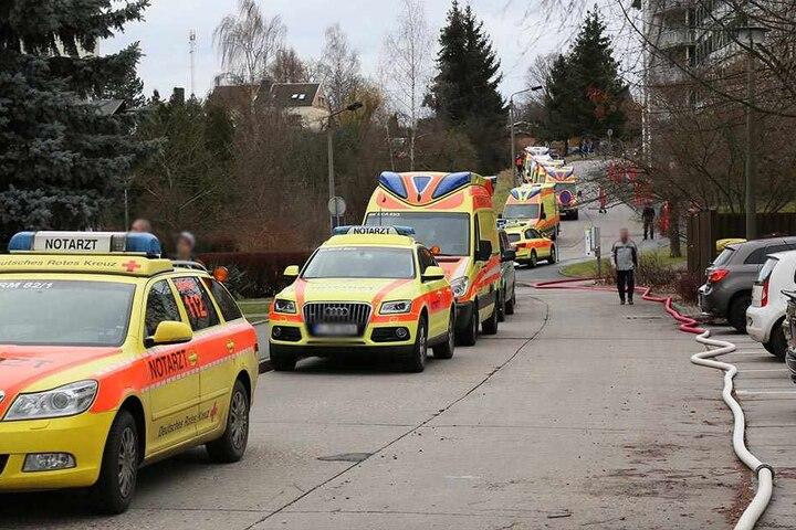 Bei dem Brand starb eine Person, zwölf weitere wurden verletzt.