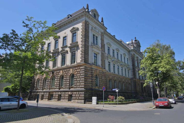 Das Justizministerium im Dresdner Regierungsviertel ist ein Sanierungsfall.