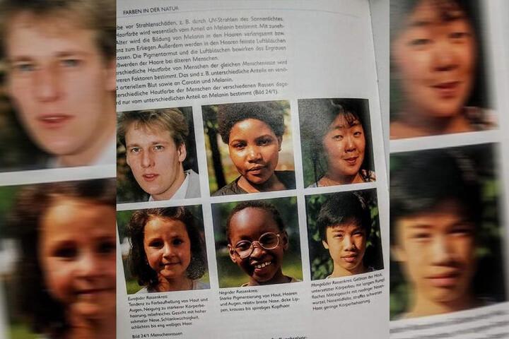 """Stein des Anstoßes: Diese Seite mit """"Rassenkreisen""""."""