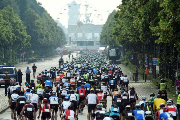 Beim Jedermann-Radrennen werden wieder zehntausesende Teilnehmer erwartet.