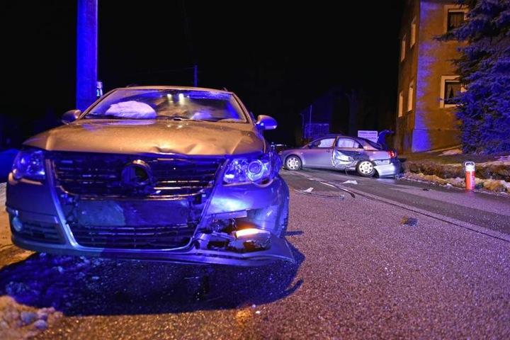 Der Unfall ereignete sich auf der Bundesstraße 97.