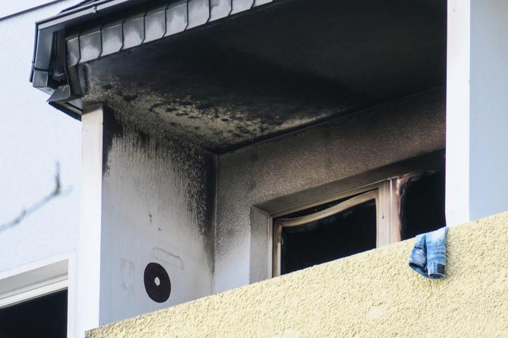 Die Wohnung im 5. Stock brannte komplett aus.