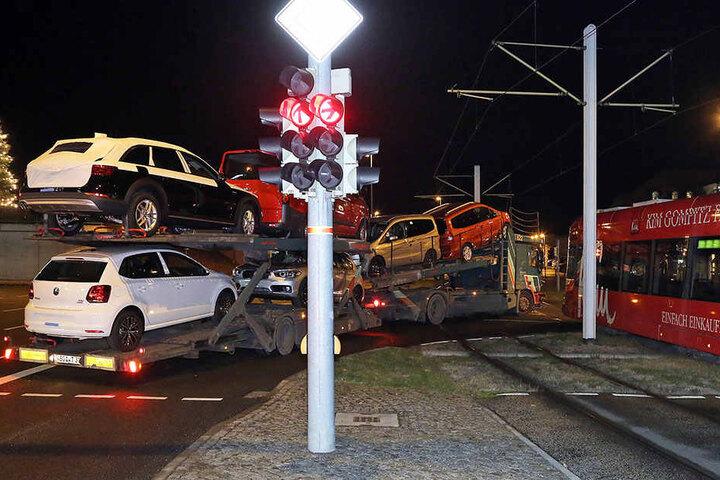 Bei dem Zusammenstoß wurde niemand verletzt.