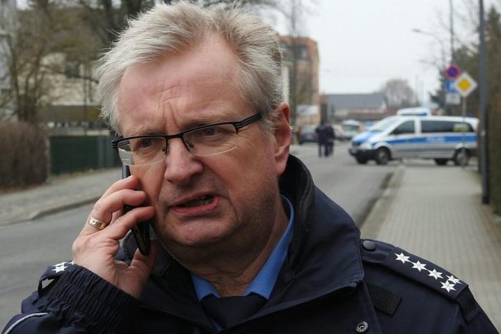 Polizeisprecher Uwe Voigt.