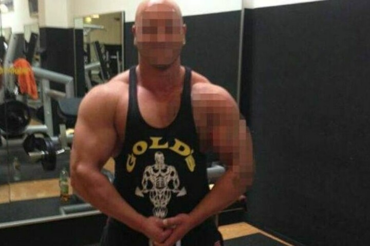 Wollte als Bodybuilder groß rauskommen, pumpte sich dafür mit Steroiden voll: Philipp P. (†27).
