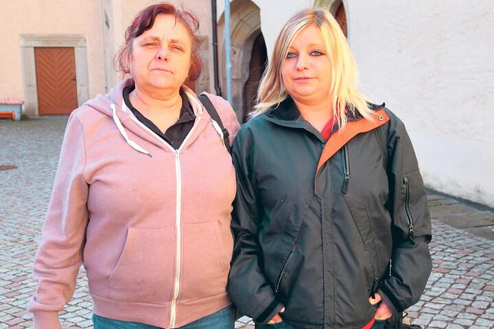 Anita (57) und Tochter Dominique W. (29) schilderten der Polizei die widerlichen Zustände in der ehemaligen Fleischerei.