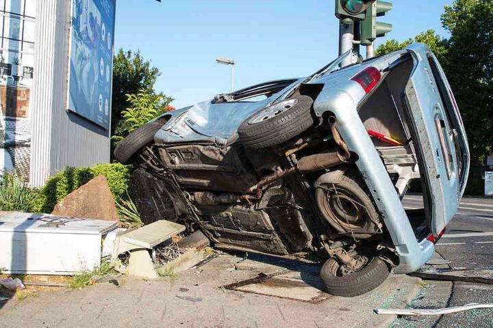 Der Unfall ereignete sich auf der Kreuzung Hagenauer Straße/Friedrich-Bergius-Straße.