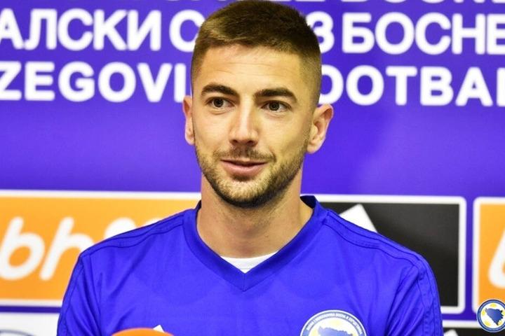Marko Mihojevic ist für Bosnien-Herzegowina im Einsatz.
