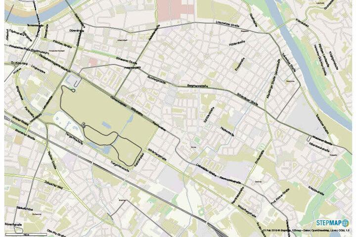 """Momentan untersucht die Stadt mögliche """"Korridore"""" für die Strecke. Sicher sind nur Zwinglistraße, Pohlandplatz und Schillerplatz als wichtige Knoten."""