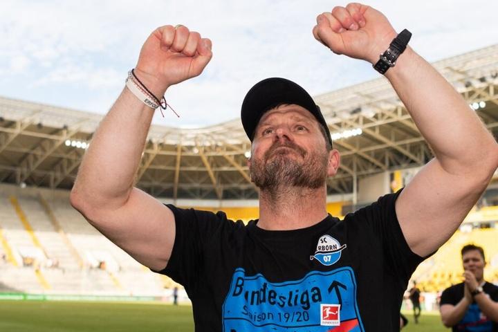 Trainer Steffen Baumgart steht für den Erfolg des SCP.