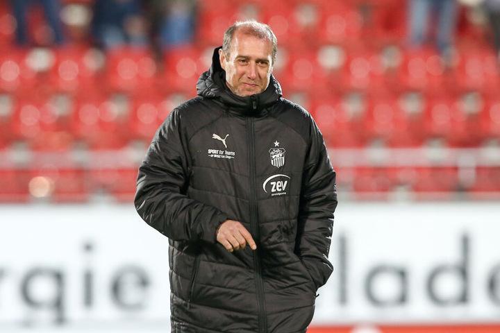 FSV-Coach Joe Enochs ist überzeugt, dass seine Mannschaft für den Abstiegskampf in der 3. Liga gut gerüstet ist.