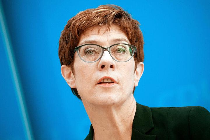 CDU-Chefin Annegret Kramp-Karrenbauer ist gegen ein Ende der Sanktionen.