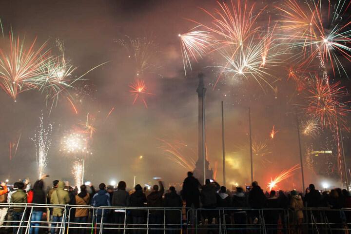 Insgesamt kamen rund 2500 Feiernde in die Innenstadt.