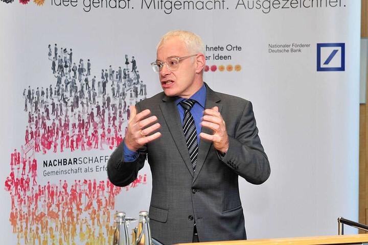 Will die Leipziger Gießerei für Saarbrücker Jobs opfern: der saarländische Wirtschaftsstaatssekretär Jürgen Barke (SPD).