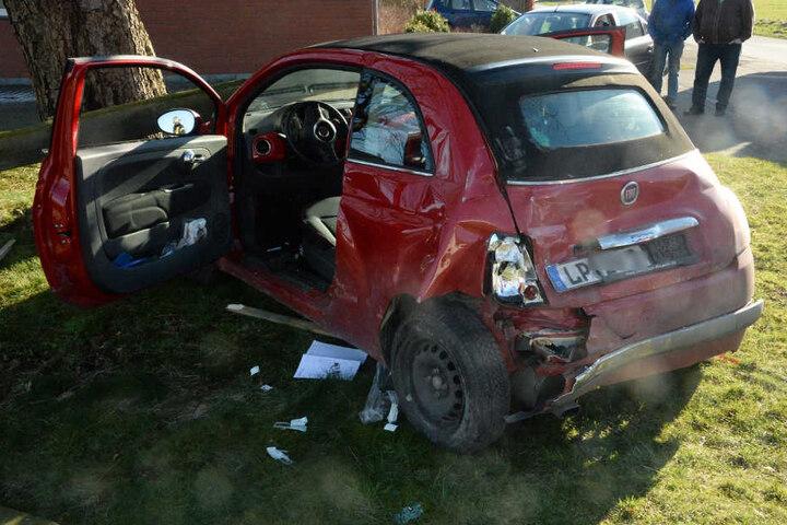 Die 51-jährige Fiat-Fahrerin aus Lippstadt wurde schwer verletzt.