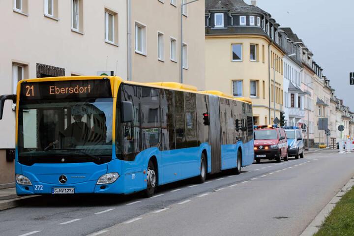 Der Vorfall ereignete sich in einem Bus der Linie 21.