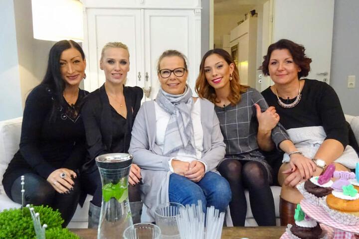 Die Kandidatinnen in Bielefeld: Maria (v.l.), Andrea, Sabine, Aylin und Sandra.