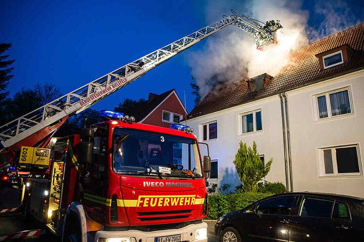 Eine Person wurde bei dem Brand verletzt.