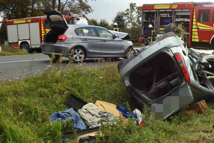 Drei Seniorinnen auf der Rückbank des Ford Fiesta wurden getötet.
