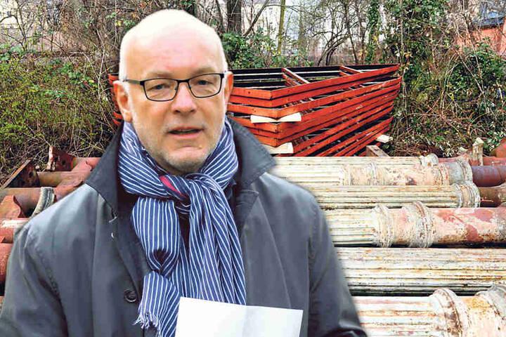 """""""Das Café ist erhaltenswert"""", sagt der Leiter des Amtes für Kultur und  Denkmalschutz, Manfred Wiemer (62)."""