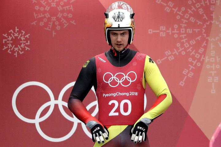 Bei seinen ersten olympischen Spielen gewann Johannes Ludwig Bronze.