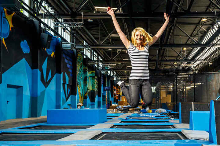 Maria Frenzel (29) leitet den Dresdner Superfly-Standort.