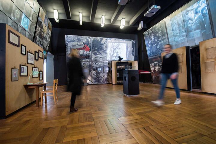 """Seit Ende März ist die alte Ausstellung """"Anne Frank. Ein Mädchen aus Deutschland"""" geschlossen."""