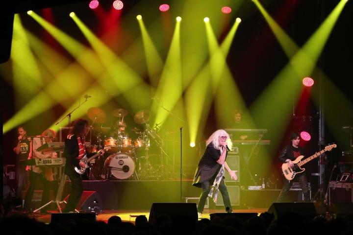"""Noch immer touren die ungarischen Stars von """"Omega"""" durch Europa, spielten im Mai 2017 auch in Erfurt. Die Band hatte sich 1962 gegründet."""
