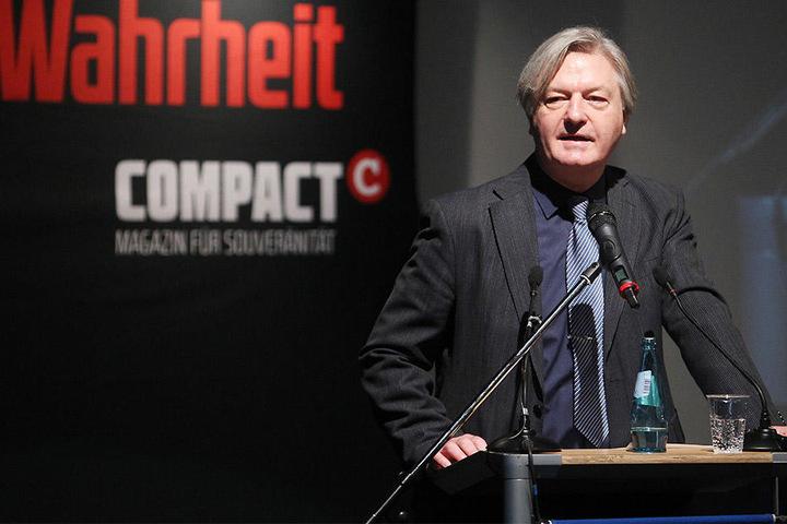 Wo genau die Compact-Konferenz in Leipzig stattfindet, ist noch geheim.