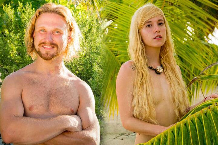 Matthias (28, Verkäufer aus Osnabrück) und Iwona (23, Make-Up-Artist aus Berlin).