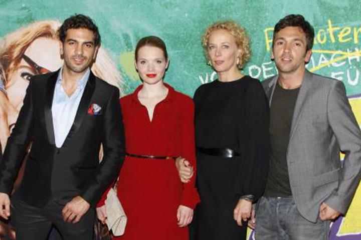 Die Stars des Blockbusters: Elyas M`Barek (33), Karoline Herfurth (32), Katja Rieman (53) und Bora Dagtekin (37).