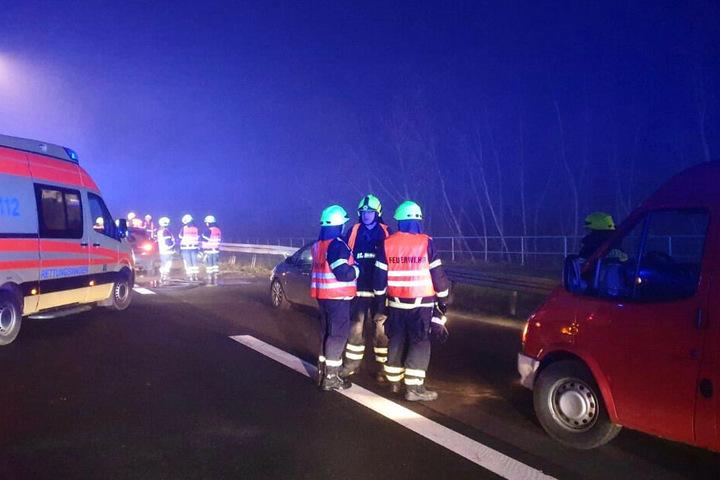 Berlin: Familienvater steigt nach Nebel-Crash aus und wird überrollt