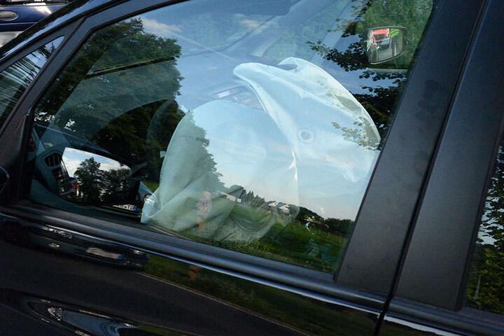 Die Airbags sprangen bei dem Unfall auf.