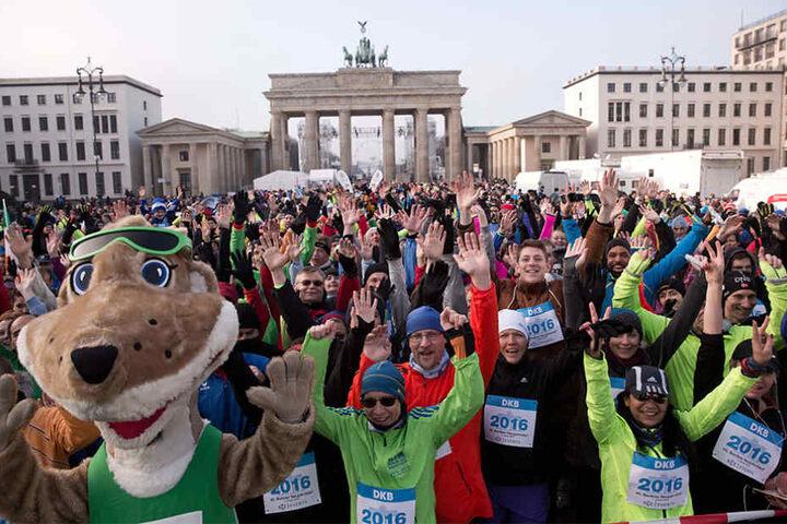 Bereits zum 47. Mal findet der Neujahrslauf in Berlin statt.